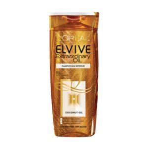 L'Oréal Paris Elvive Extraordinary Oil Σαμπουάν Θρέψης με Λάδι Καρύδας για Κανονικά προς Ξηρά Μαλλιά 400 ml (€4.45)